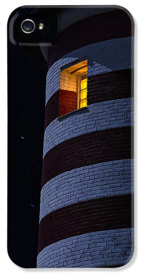 Lighthouse IPhone 5 / 5s Case featuring the photograph Light From Within by Marty Saccone