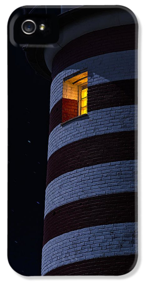 Lighthouse IPhone 5 Case featuring the photograph Light From Within by Marty Saccone