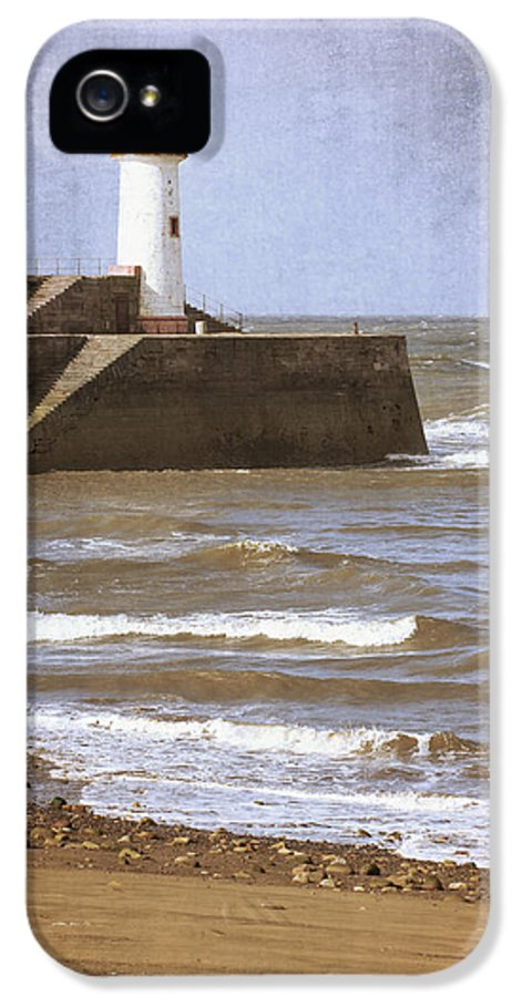 Lighthouse IPhone 5 Case featuring the photograph Lighthouse by Amanda Elwell