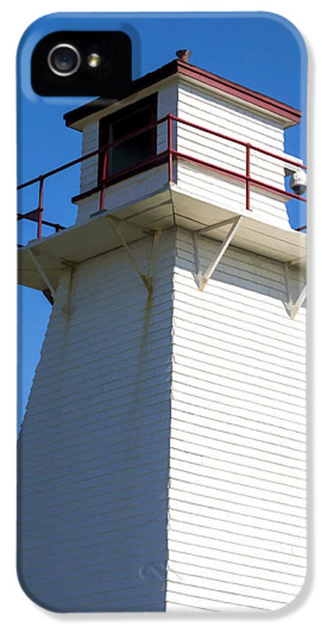 Lighthouse IPhone 5 Case featuring the photograph Lighthouse Pei by Edward Fielding