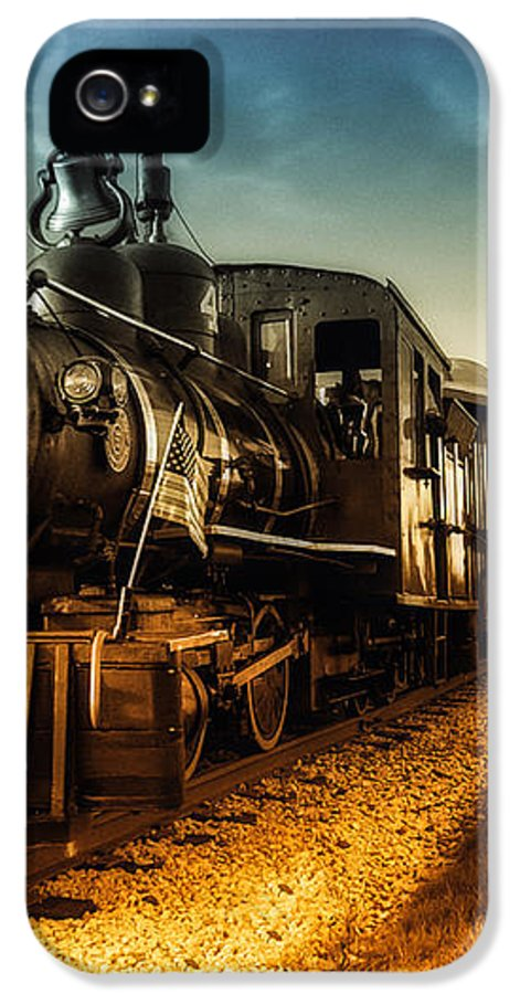 Train IPhone 5 Case featuring the photograph Locomotive Number 4 by Bob Orsillo
