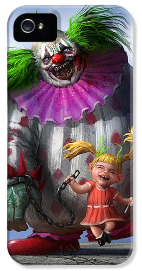 Illustration IPhone 5 Case featuring the digital art Lollipop by Alex Ruiz