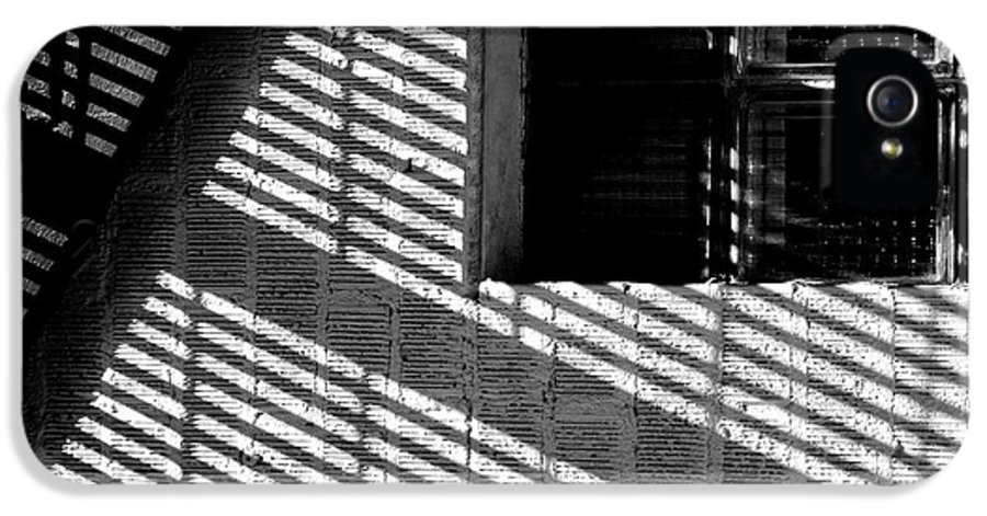 Art IPhone 5 Case featuring the photograph Long Shadows by Steven Milner