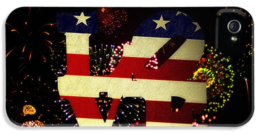 Love IPhone 5 / 5s Case featuring the photograph Love American Style by Bill Cannon