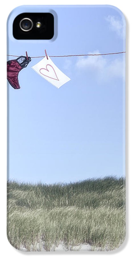 Sheet IPhone 5 Case featuring the photograph Love Message From Cloud 9 by Joana Kruse