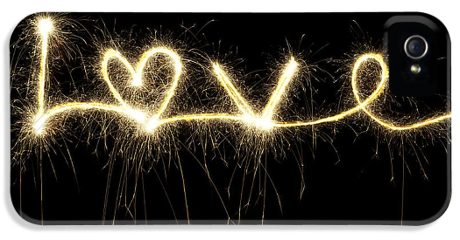 Heart IPhone 5 Case featuring the photograph Love Shines Brightly by Tim Gainey