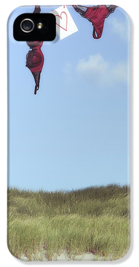 Sheet IPhone 5 Case featuring the photograph Loveletter From Cloud 9 by Joana Kruse