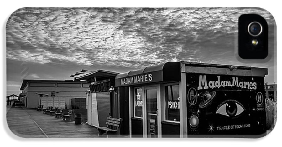 Madam Marie IPhone 5 Case featuring the photograph Madam Marie's by David Rucker