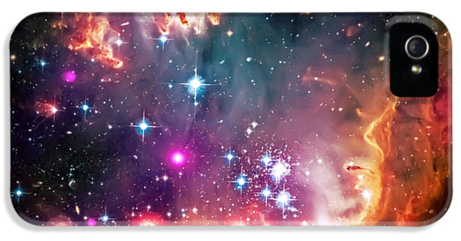 Universe IPhone 5 Case featuring the photograph Magellanic Cloud 2 by Jennifer Rondinelli Reilly - Fine Art Photography