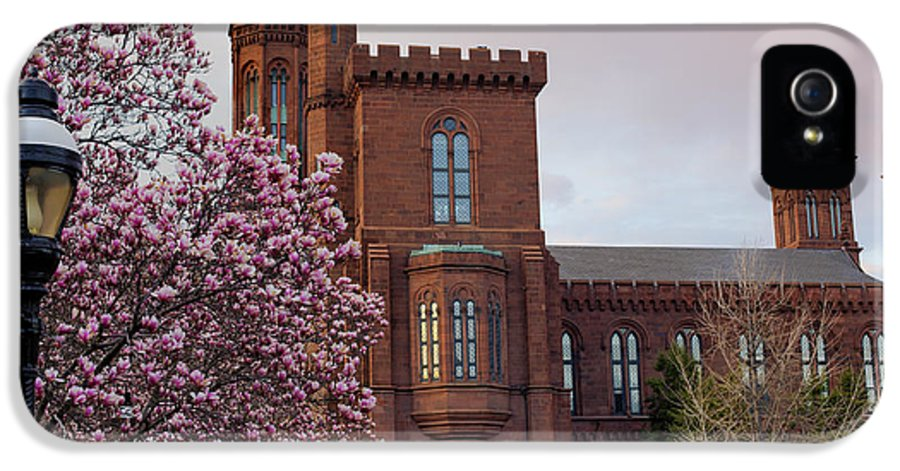 Andrew Pacheco IPhone 5 Case featuring the photograph Magnolias Near The Castle by Andrew Pacheco