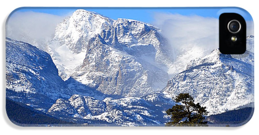 Taylor IPhone 5 Case featuring the photograph Majestic Mountains by Tranquil Light Photography