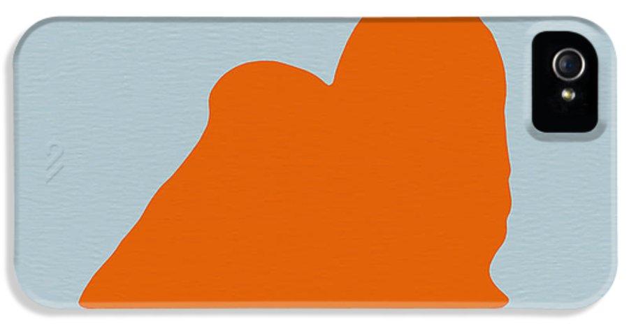 Maltese IPhone 5 / 5s Case featuring the photograph Maltese Orange by Naxart Studio