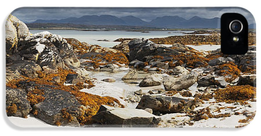 Ballyconneely IPhone 5 Case featuring the photograph Mannin Bay Connemara 5 by Michael David Murphy