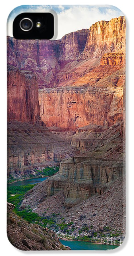 America IPhone 5 Case featuring the photograph Marble Cliffs by Inge Johnsson