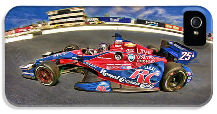 Marco Andretti IPhone 5 Case featuring the photograph Marco Andretti by Blake Richards