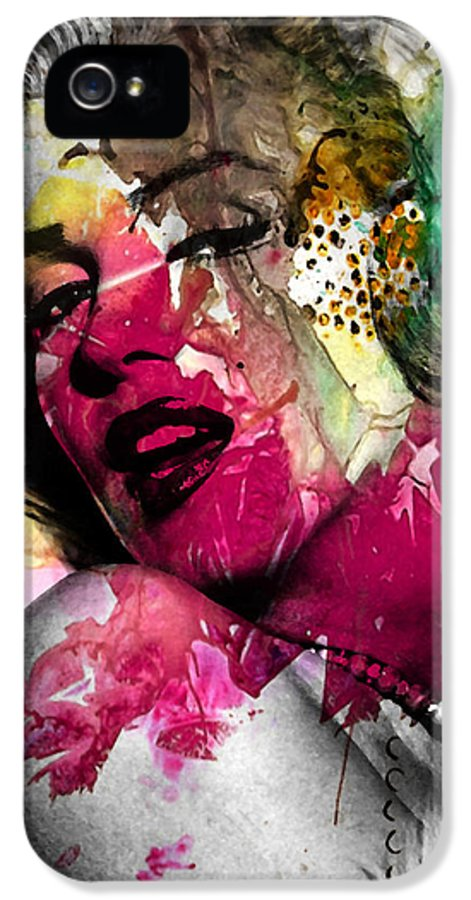 Pop Art IPhone 5 Case featuring the photograph Marilyn Monroe by Mark Ashkenazi