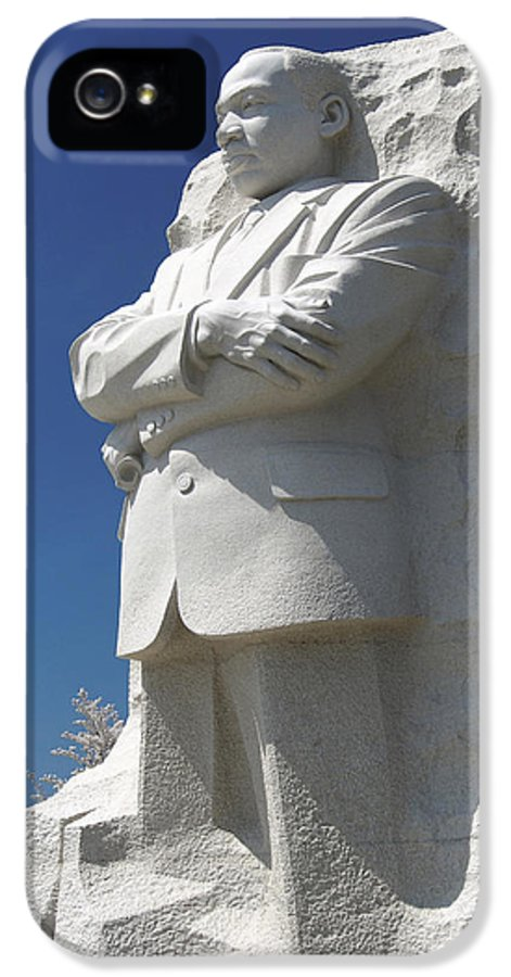 Landmarks IPhone 5 Case featuring the photograph Martin Luther King Jr. Memorial by Mike McGlothlen