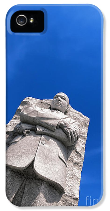 Martin IPhone 5 Case featuring the photograph Martin Luther King by Olivier Le Queinec