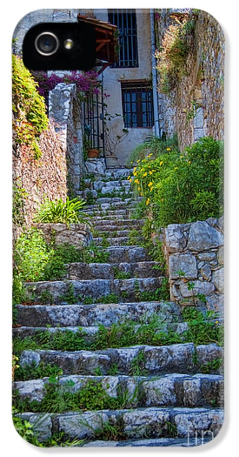France IPhone 5 Case featuring the photograph Medieval Saint Paul De Vence 1 by David Smith