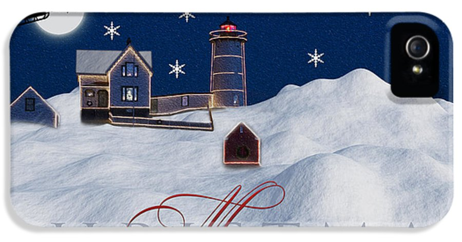Merry Christmas IPhone 5 Case featuring the photograph Merry Christmas by Susan Candelario