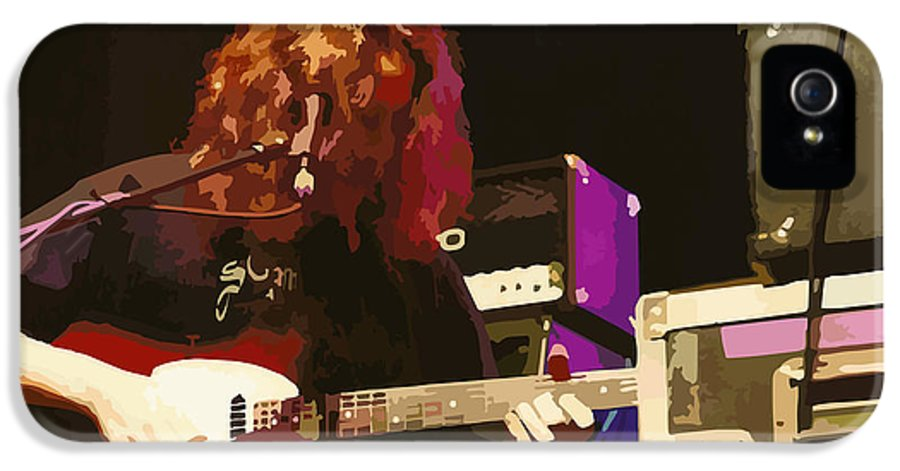 Michael Houser IPhone 5 Case featuring the digital art Michael Houser by D Walton