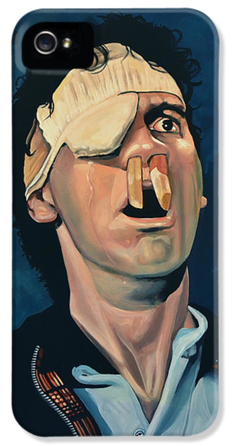 Michael Palin IPhone 5 Case featuring the painting Michael Palin by Paul Meijering