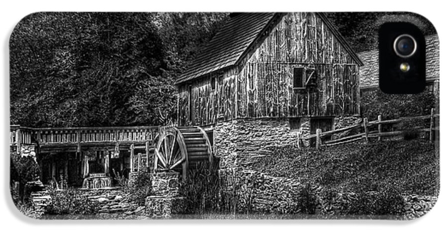 Savad IPhone 5 Case featuring the photograph Mill - The Mill by Mike Savad