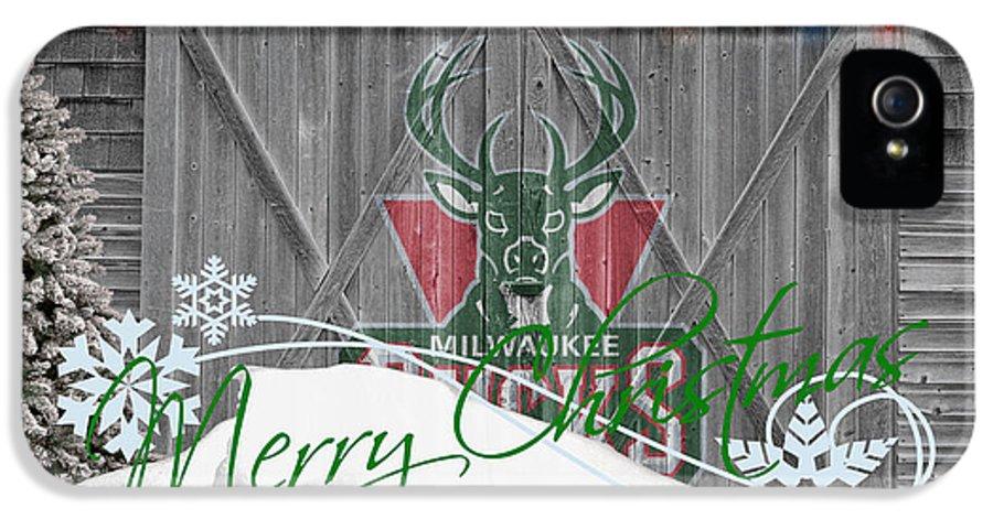Bucks IPhone 5 Case featuring the photograph Milwaukee Bucks by Joe Hamilton