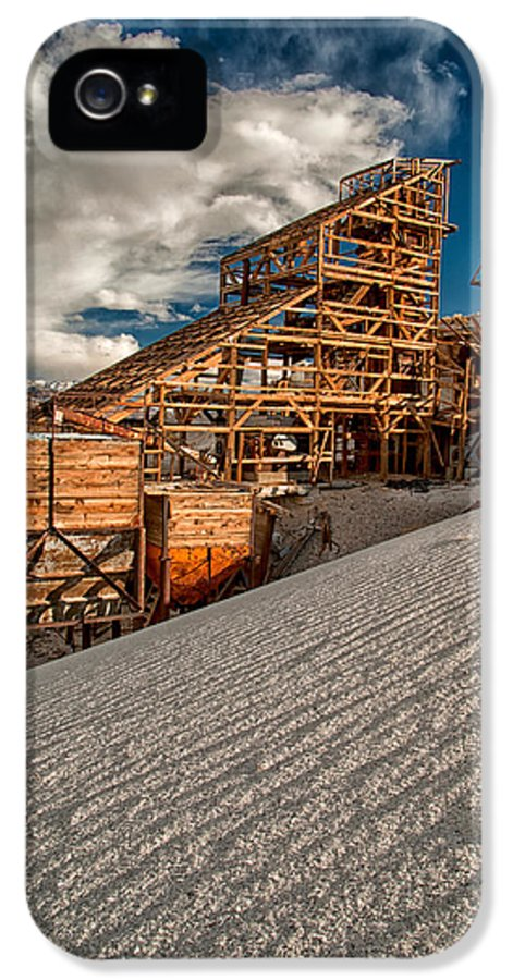 Mining IPhone 5 Case featuring the photograph Mining Days by Cat Connor