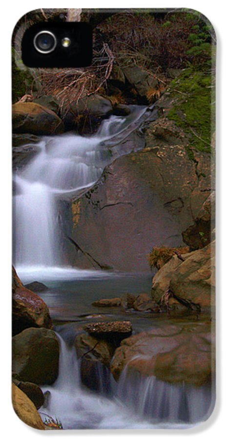 Mix Canyon IPhone 5 Case featuring the photograph Mix Canyon Creek by Bill Gallagher