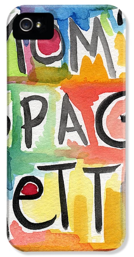 Spaghetti IPhone 5 Case featuring the painting Mom's Spaghetti by Linda Woods