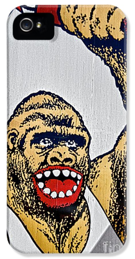 Fireworks IPhone 5 Case featuring the photograph Monkey Around by Ken Williams