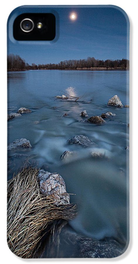 Landscape IPhone 5 Case featuring the photograph Moonlight Sonata by Davorin Mance