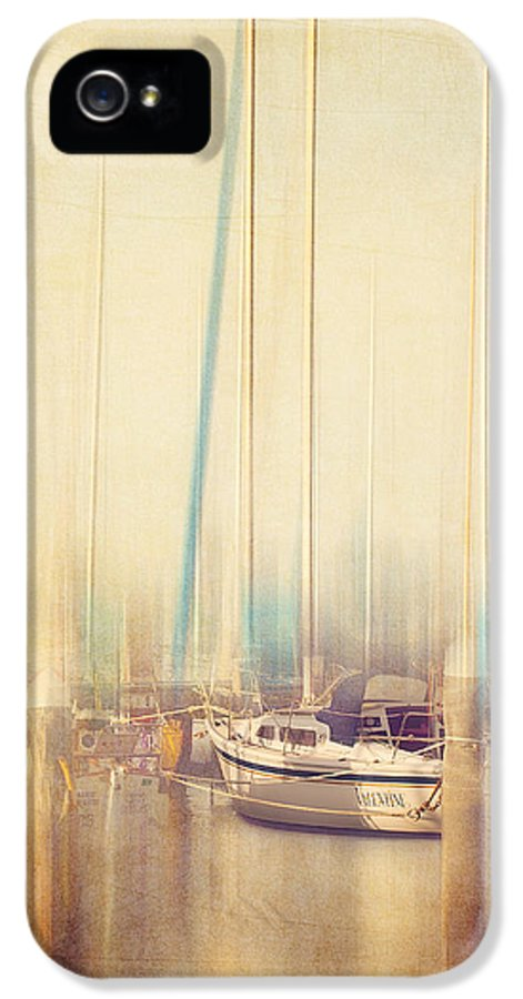 Boat IPhone 5 Case featuring the photograph Morning Sail by Amy Weiss