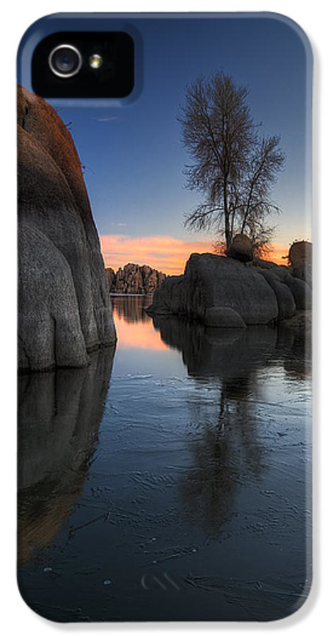 Landscape IPhone 5 Case featuring the photograph Morning Wood by Sean Foster