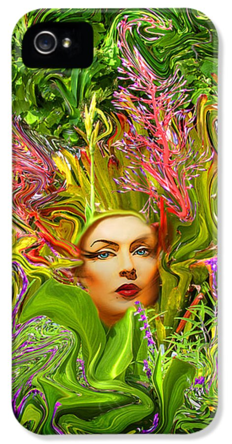 Floral IPhone 5 Case featuring the photograph Mother Nature by Chuck Staley