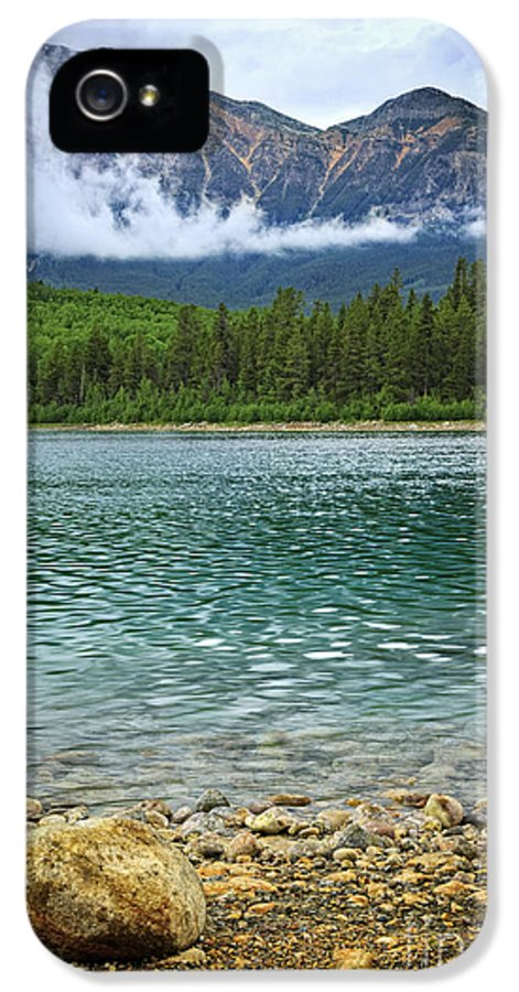 Lake IPhone 5 Case featuring the photograph Mountain Lake by Elena Elisseeva