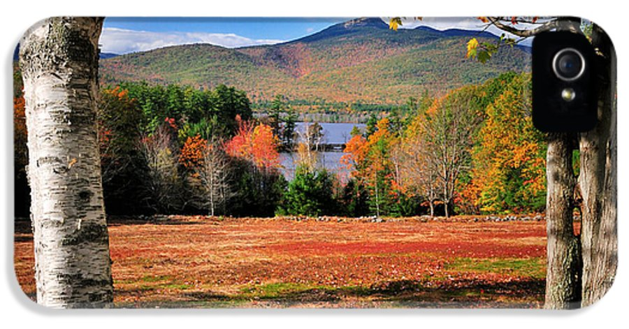 Mount IPhone 5 Case featuring the photograph Mt Chocorua - A New Hampshire Scenic by Expressive Landscapes Fine Art Photography by Thom
