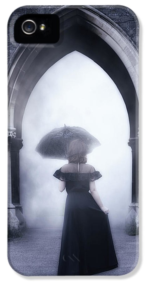 Woman IPhone 5 Case featuring the photograph Mysterious Archway by Joana Kruse