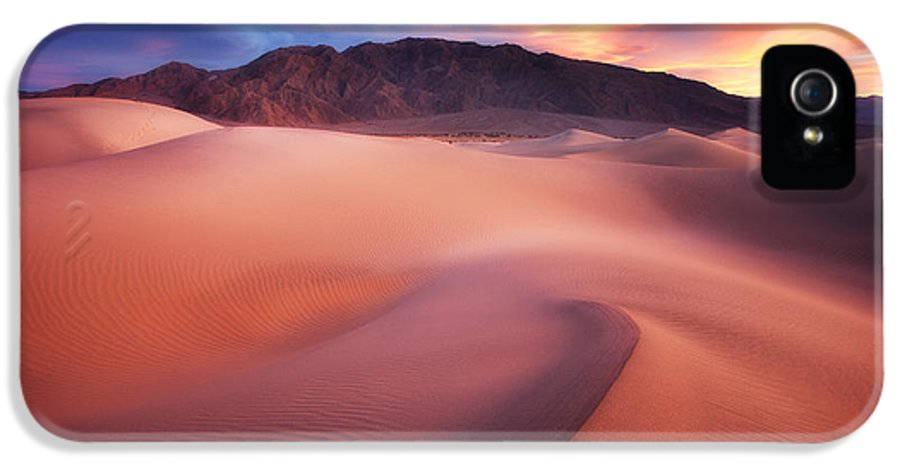Landscape IPhone 5 Case featuring the photograph Mysterious Mesquite by Darren White