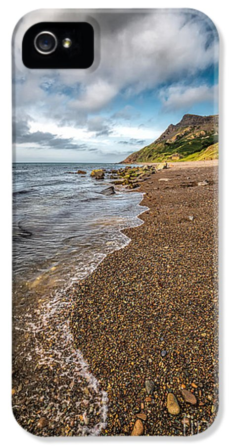 British IPhone 5 Case featuring the photograph Nant Gwrtheyrn Shore by Adrian Evans