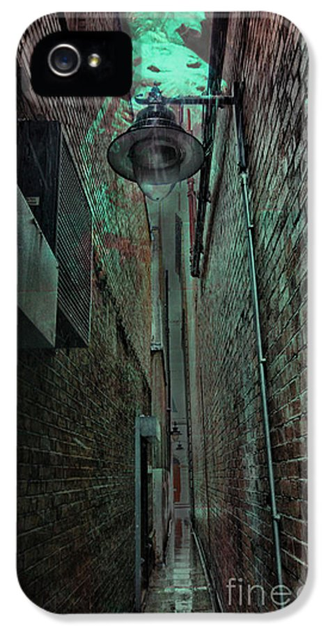 Skeleton IPhone 5 Case featuring the photograph Narrow Street by Jasna Buncic