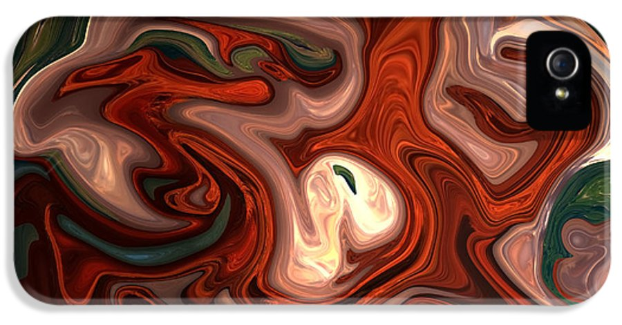 Abstract IPhone 5 Case featuring the photograph Natural Flow by Aidan Moran