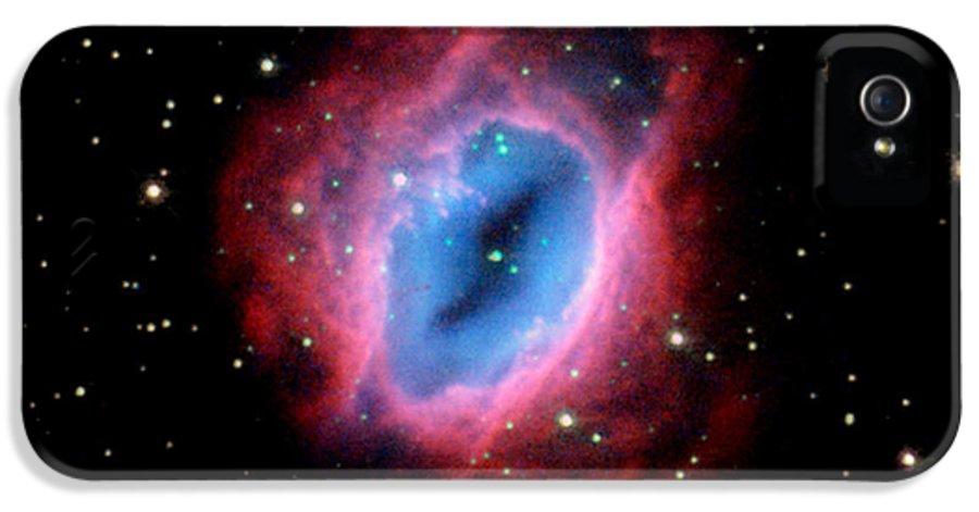 Nebula IPhone 5 Case featuring the photograph Nebula And Stars Nasa by Rose Santuci-Sofranko