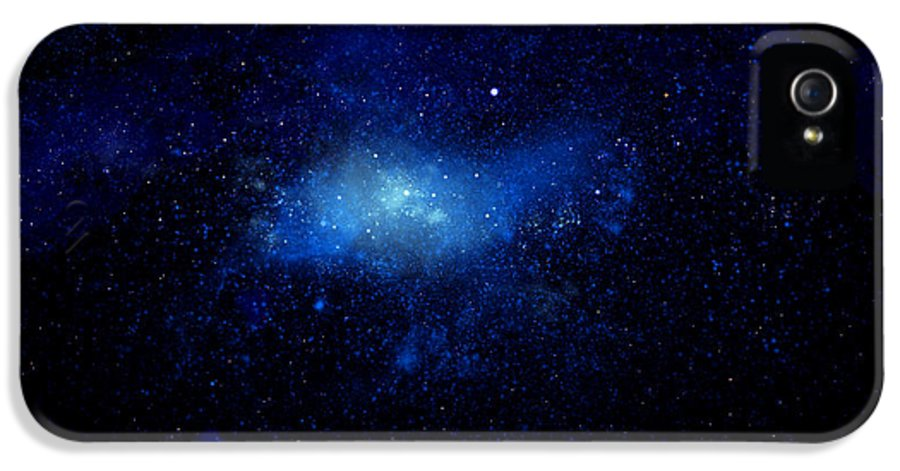 Nebula Ceiling Mural IPhone 5 Case featuring the painting Nebula Ceiling Mural by Frank Wilson
