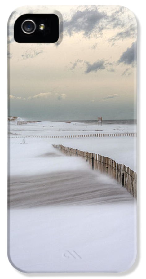 Winter Storm Nemo IPhone 5 Case featuring the photograph Nemo by JC Findley