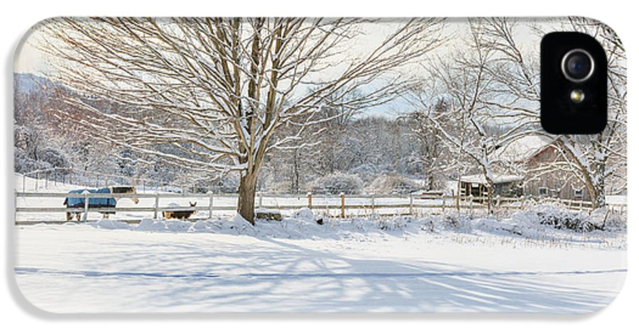 New England Winter IPhone 5 Case featuring the photograph New England Winter by Bill Wakeley