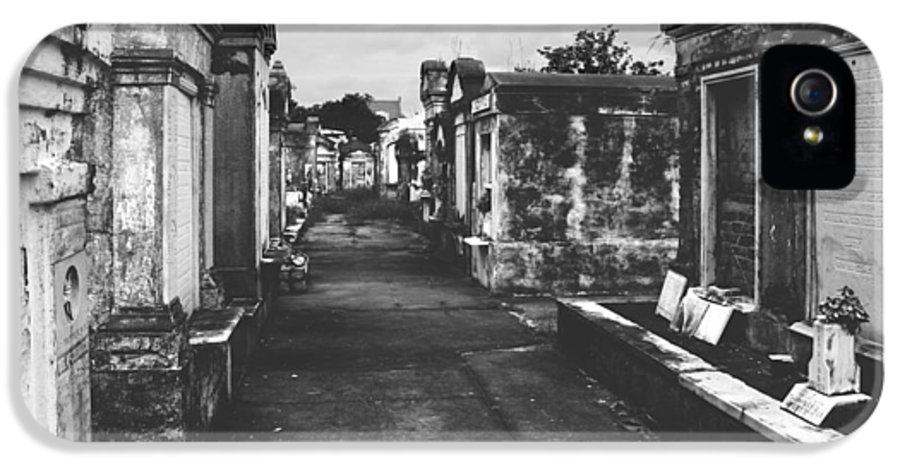 Lafayette IPhone 5 Case featuring the photograph New Orleans Lafayette Cemetery by Christine Till
