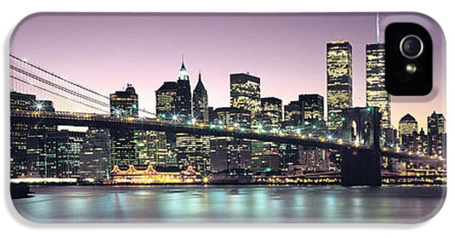 New York City Skyline IPhone 5 Case featuring the photograph New York City Skyline by Jon Neidert