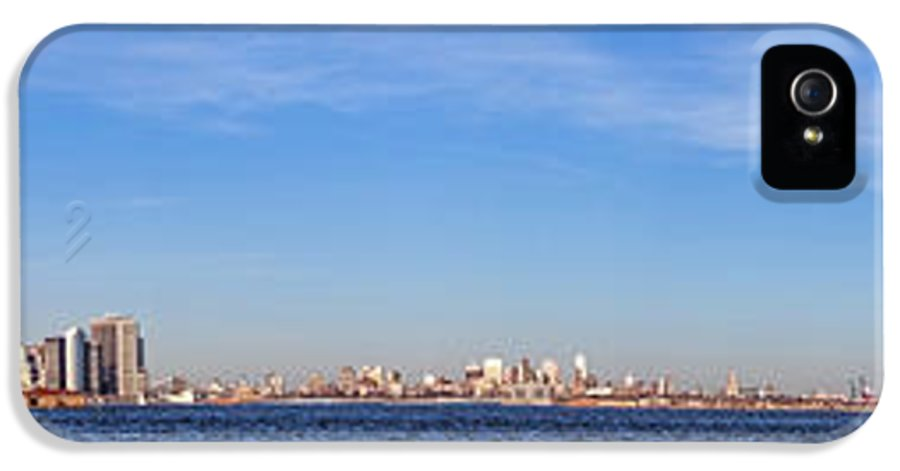 New IPhone 5 Case featuring the photograph New York City Skyline by Olivier Le Queinec